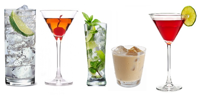 Kända drinkar